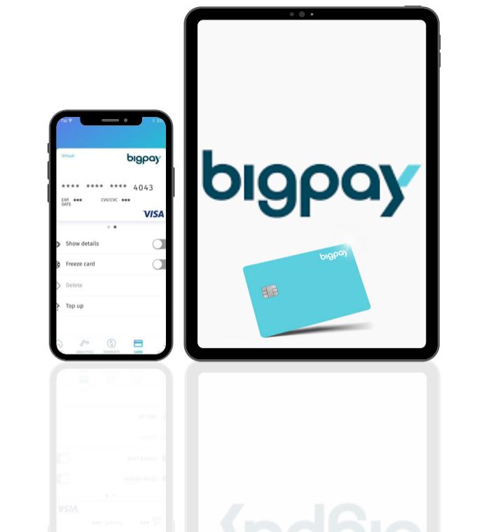 Big Pay 虚拟卡片福利